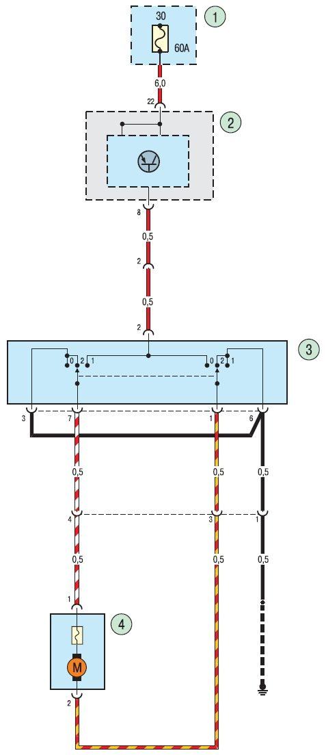 Электросхема гидропривода