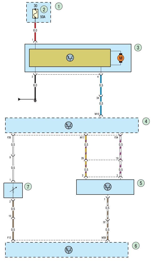 Электросхема кондиционера (2)